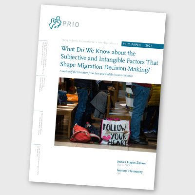 What Do We Know about the Subjective and Intangible Factors That Shape Migration Decision-Making?