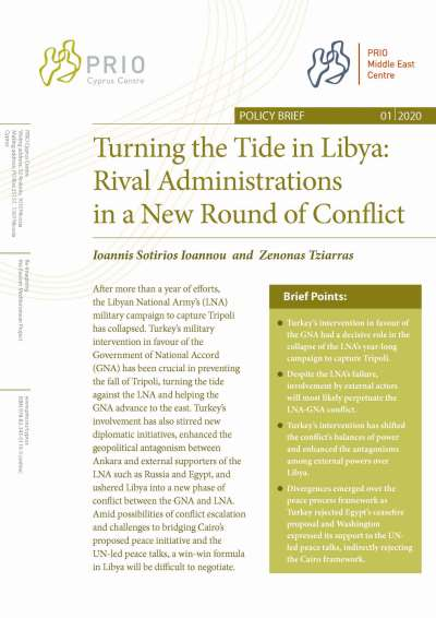 Geopolitical Antagonisms Usher Libya Into a New Conflict Phase