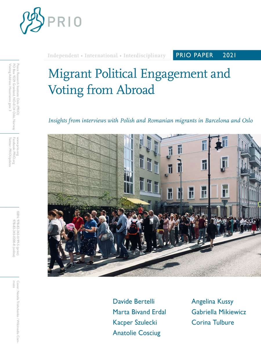 Migrant Political Engagement and Voting from Abroad
