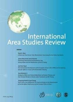 International Area Studies Review