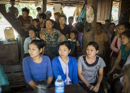 Women, Peace and Security in Myanmar