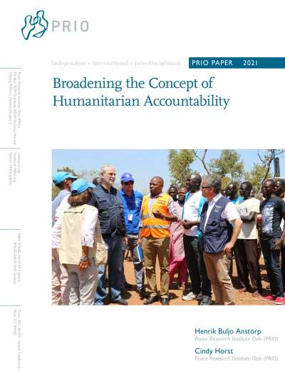 Broadening the Concept of Humanitarian Accountability