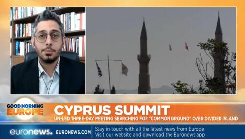 Zenonas Tziarras on Euronews