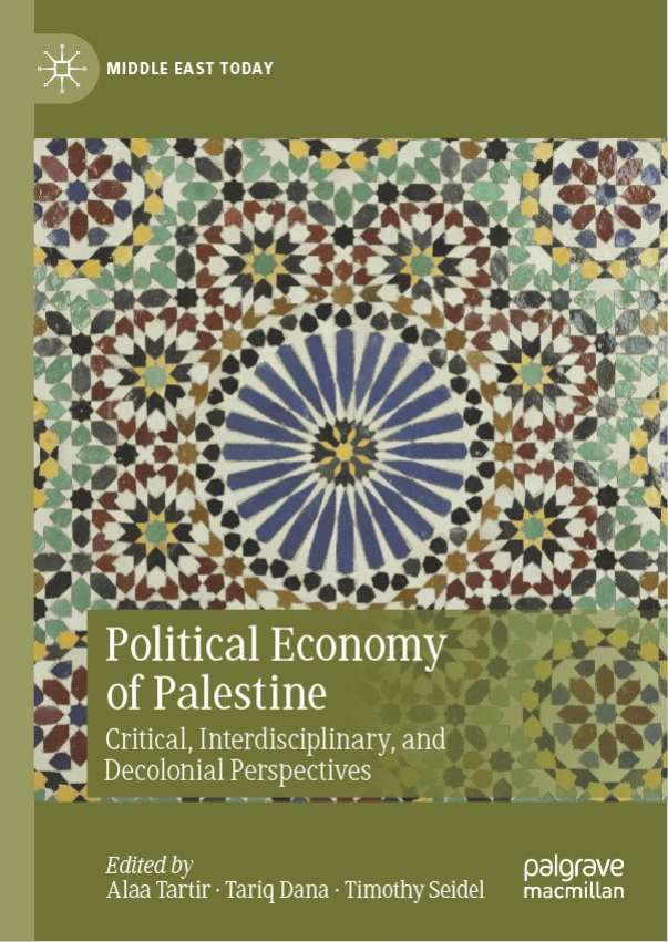 New Book Offers Fresh View into Palestinian Political Economy