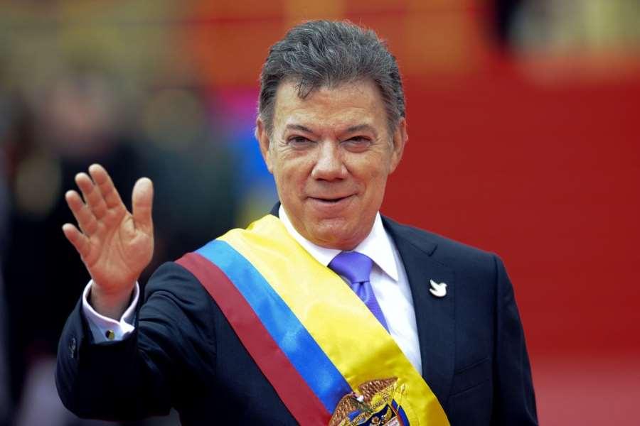 Nobel Peace Prize awarded to Juan Manuel Santos