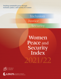 Launch of the 2021/22 Global Women, Peace and Security Index
