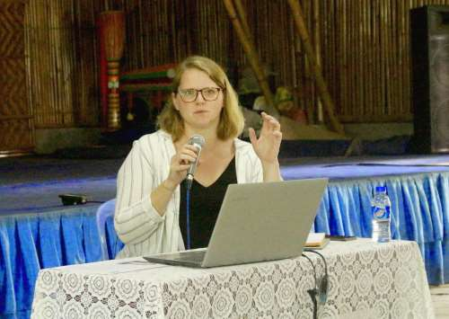 PRIO Researcher Gives Talk on Sexual Violence in Armed Conflict