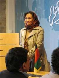 Afghan Ambassador attends Poetry event at PRIO