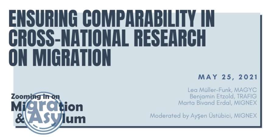 Ensuring comparability in cross-national research on migration