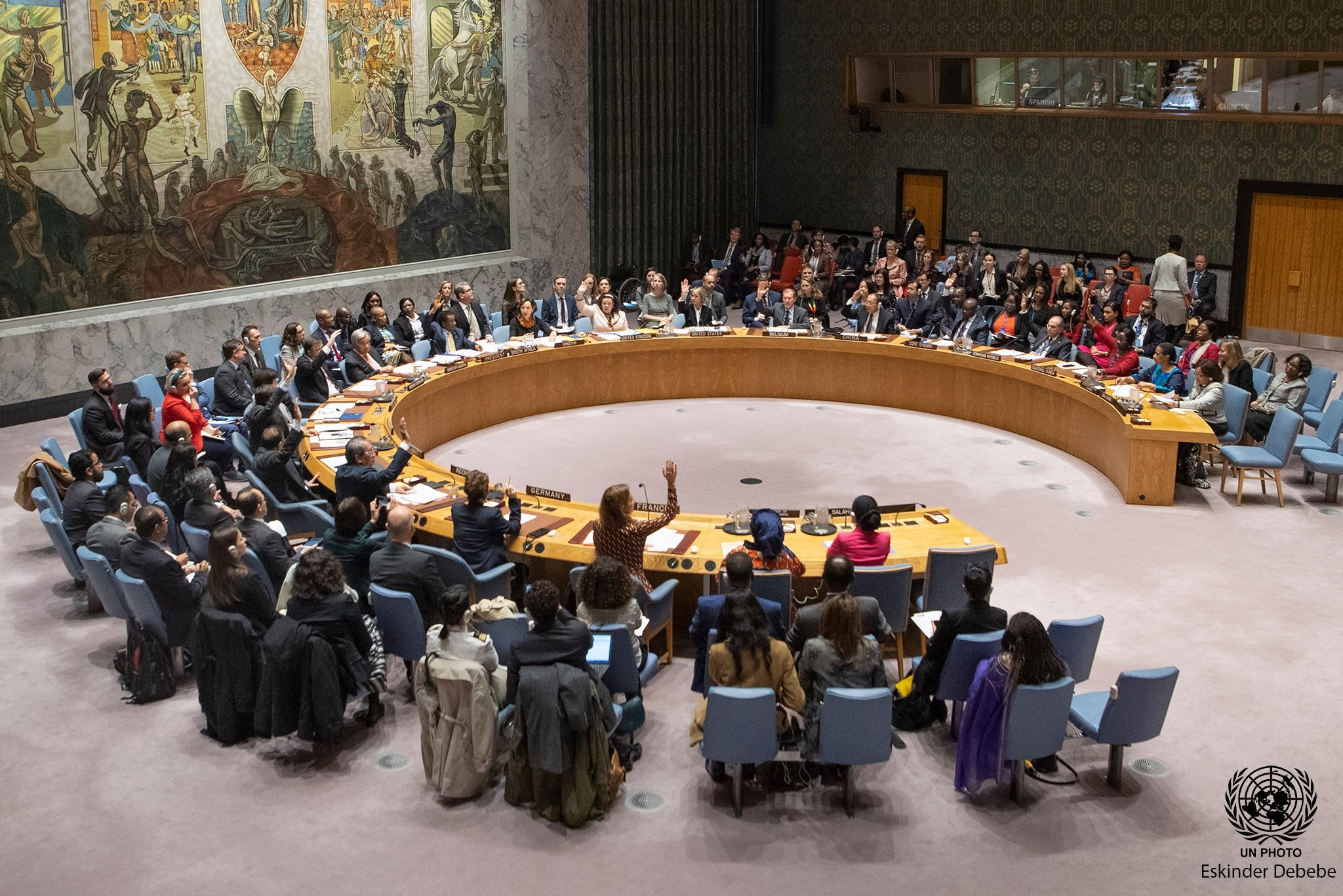 The United Nations Security Council Unanimously Adopts New Resolution On Women, Peace and Security