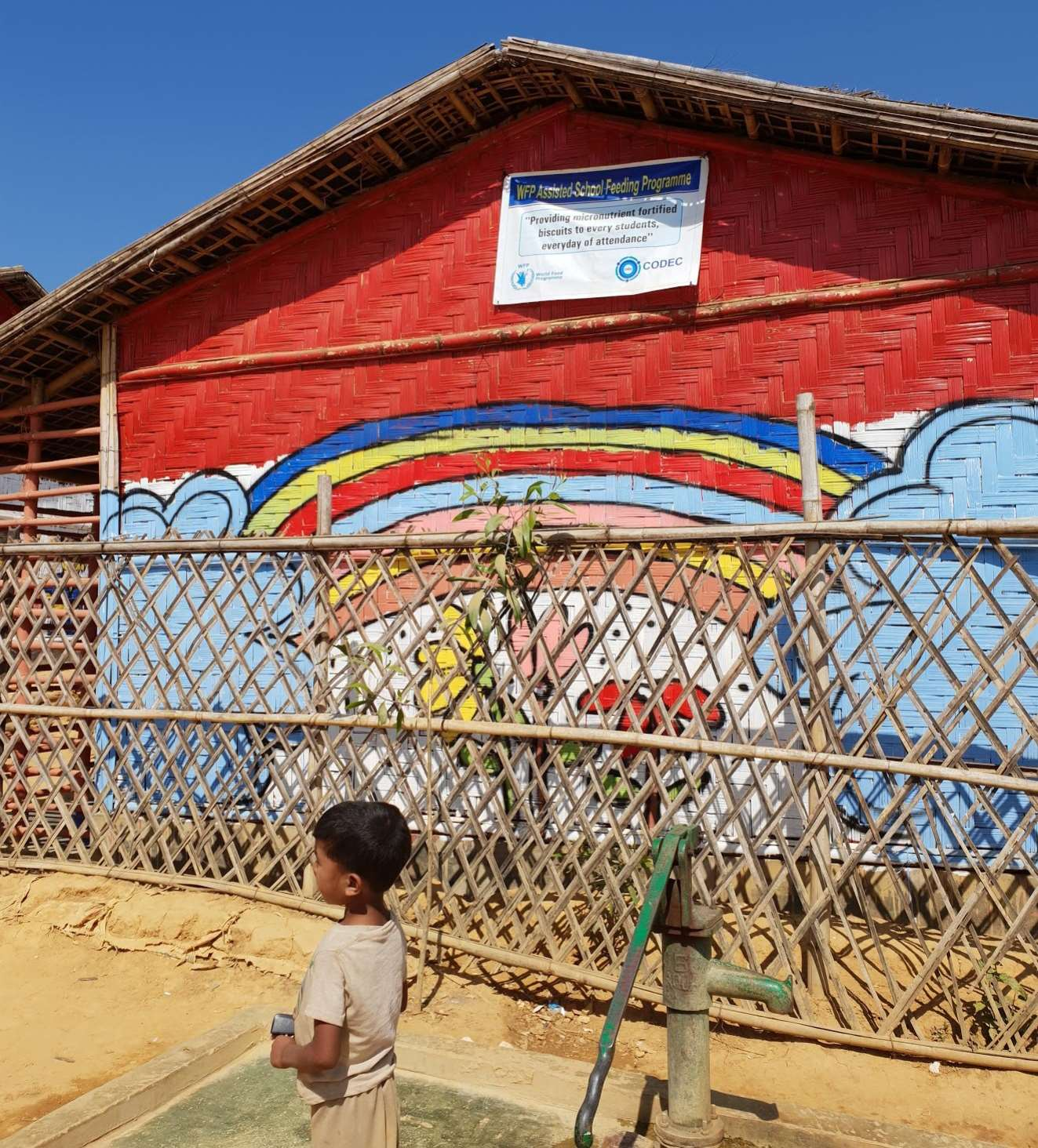 EducAid: Improving Education for Rohingya Refugees from Myanmar Living in Bangladesh
