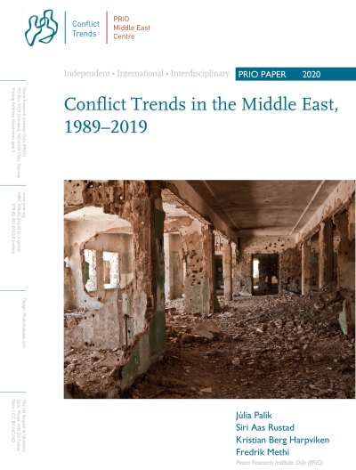 Conflict Trends in the Middle East, 1989–2019