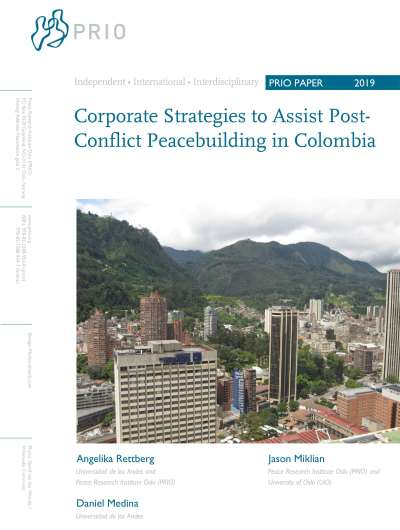 Corporate Strategies to Assist Post-Conflict Peacebuilding in Colombia