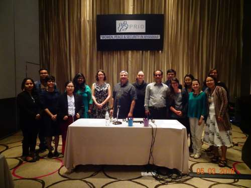 Conference on 'Women, Peace and Security in Myanmar' held in Bangkok on 5 March