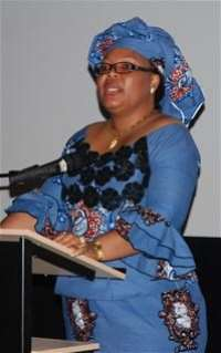 PRIO hosts Nobel Peace Prize laureate Leymah Gbowee at film screening in Oslo