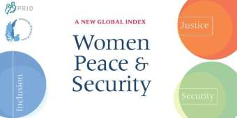 Launch of the New Global Women, Peace and Security index