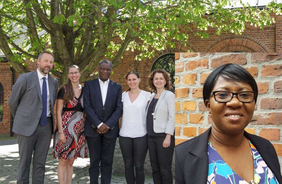 PRIO partners Dr. Denis Mukwege and Dr. Christine Amisi visit PRIO