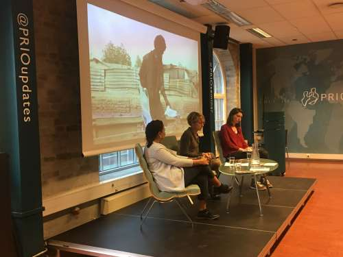 PRIO CCC Seminar on Visual Conversations in and about War and Migration