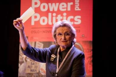 PRIO's State Feminist: Helga Hernes Interviewed by Kristian Berg Harpviken