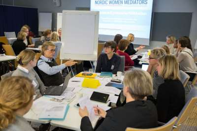 Nordic Women Mediators call for inclusion of women in peace and mediation processes