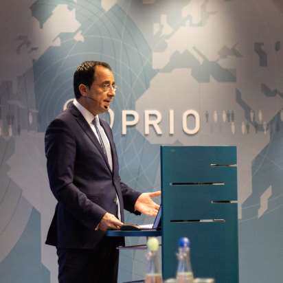 Inaugural lecture by Cyprus' Minister of Foreign Affairs Nikos Christodoulides