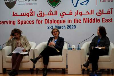 Preserving Spaces for Dialogue in the Middle East