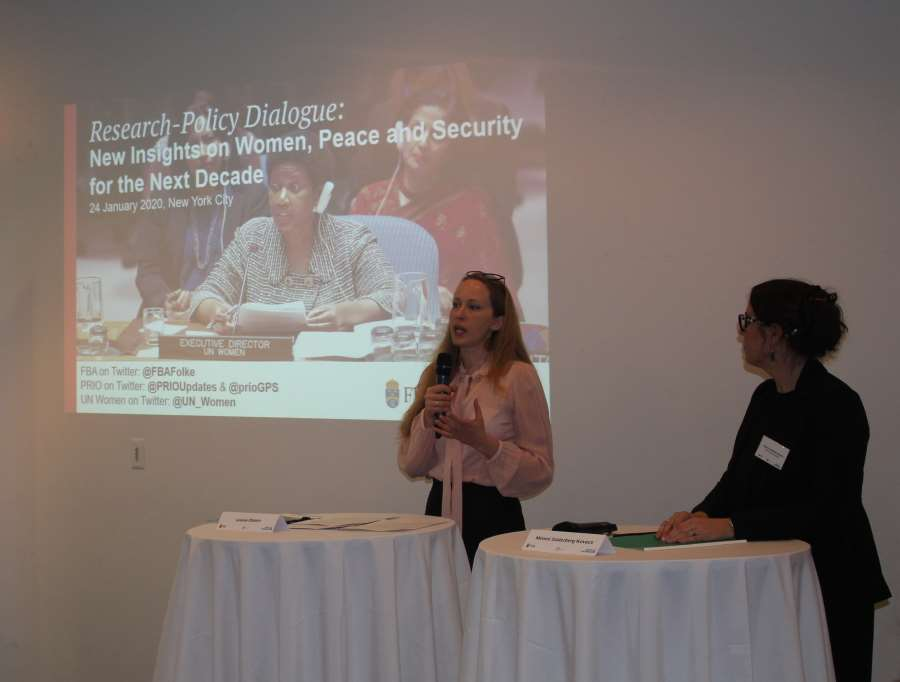 Louise Olsson at Research-Policy Dialogue