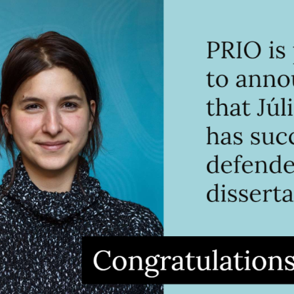 Successful Thesis Defense by Júlia Palik