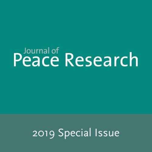 Open Call for 2019 Special Issue of the Journal of Peace Research