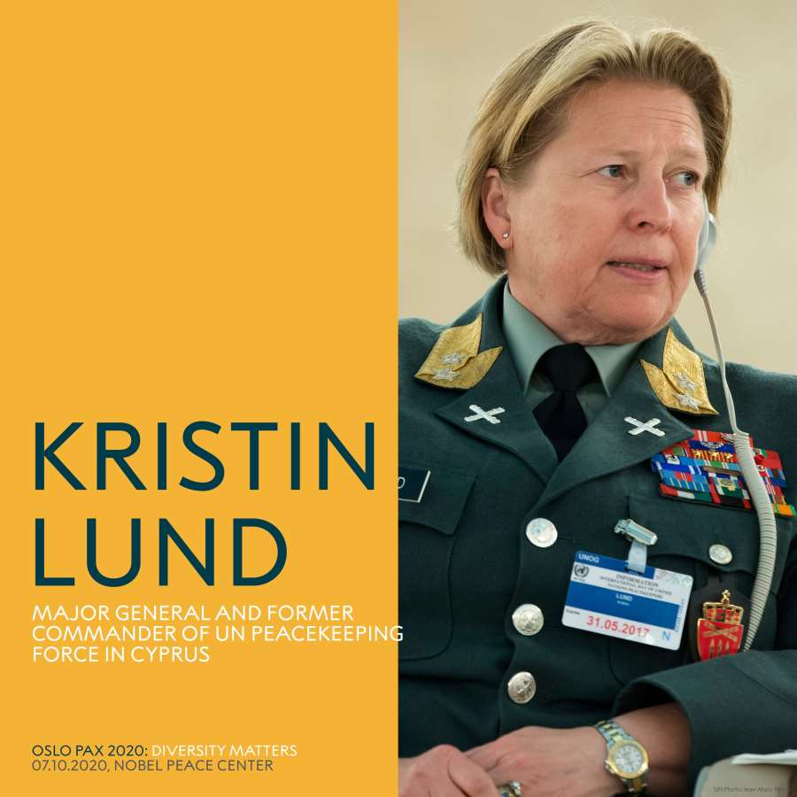 Kristin Lund at Oslo Pax
