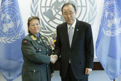 New Policy Brief by Kristin Lund: Reflections from the First Female Force Commander in UN History