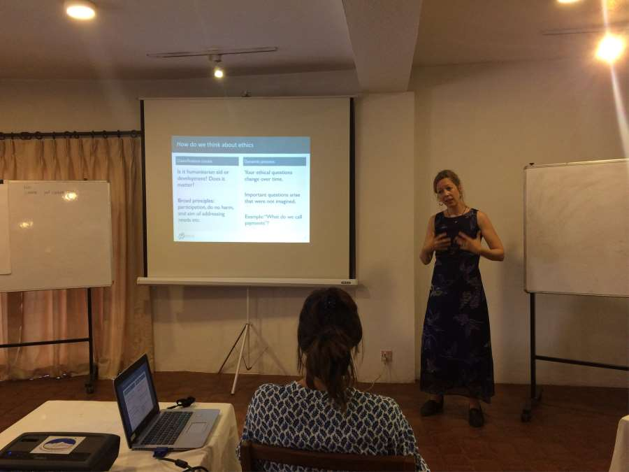 PRIO Participates in Depps Labs Humanitarian Innovation Workshop in Katmandu, Nepal