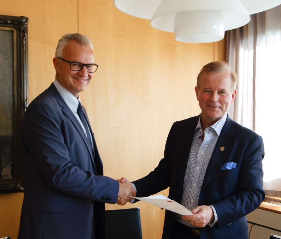 Firming up Ties with the University of Oslo