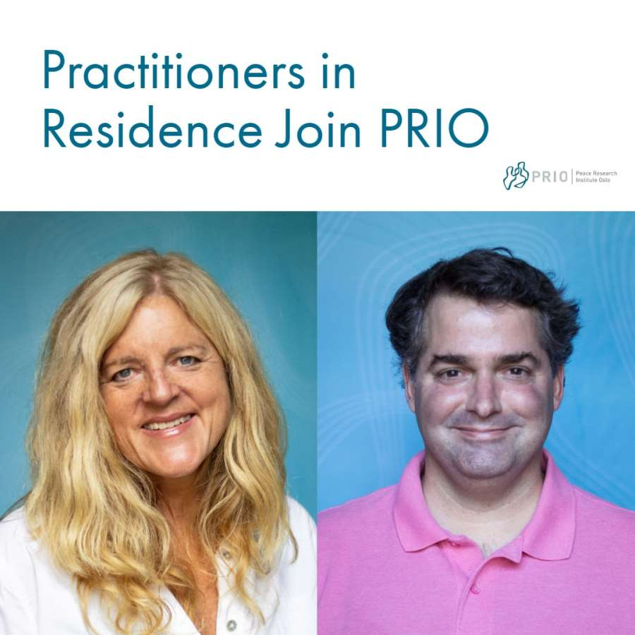 Practitioners in Residence Programme Launches at PRIO