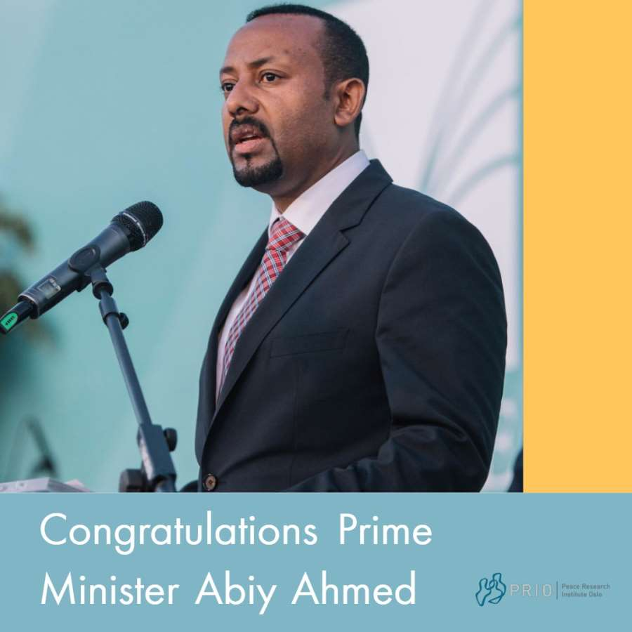 PRIO Director Henrik Urdal Applauds Bold Nobel Peace Prize to Abiy Ahmed