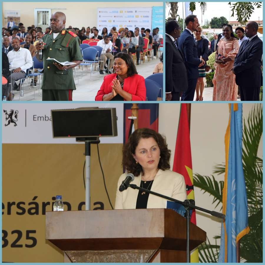 Torunn Tryggestad Visits Mozambique, Commemorates UN Resolution 1325