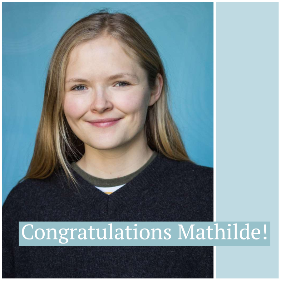 Mathilde Bålsrud Mjelva Successfully Defends Master's Thesis