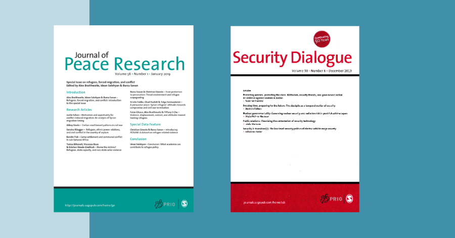 Journal of Peace Research, Security Dialogue: Improved Rankings