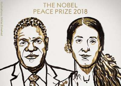 PRIO Congratulates Denis Mukwege and Nadia Murad