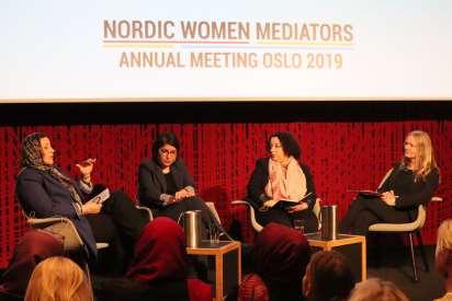 Annual meeting of Nordic Women Mediators successfully convened in Oslo