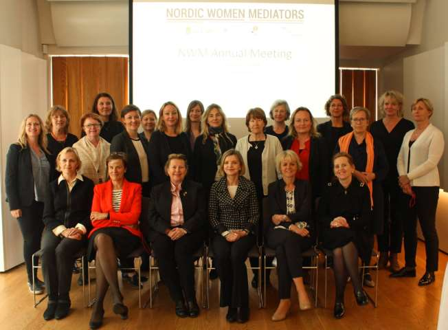 NWM members at Reykjavik meeting in May 2017