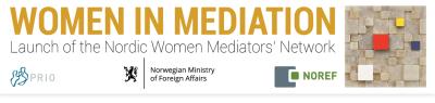 Public Launch of the Nordic Women Mediators' Network