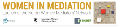 Public Launch of the Nordic Women Mediators' Network