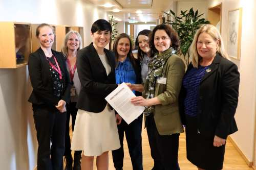 Nordic Women Mediators-Norway meet with the Minister of Foreign Affairs