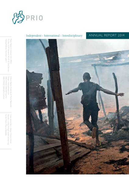 PRIO Annual Report 2014