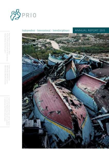 PRIO Annual Report 2015