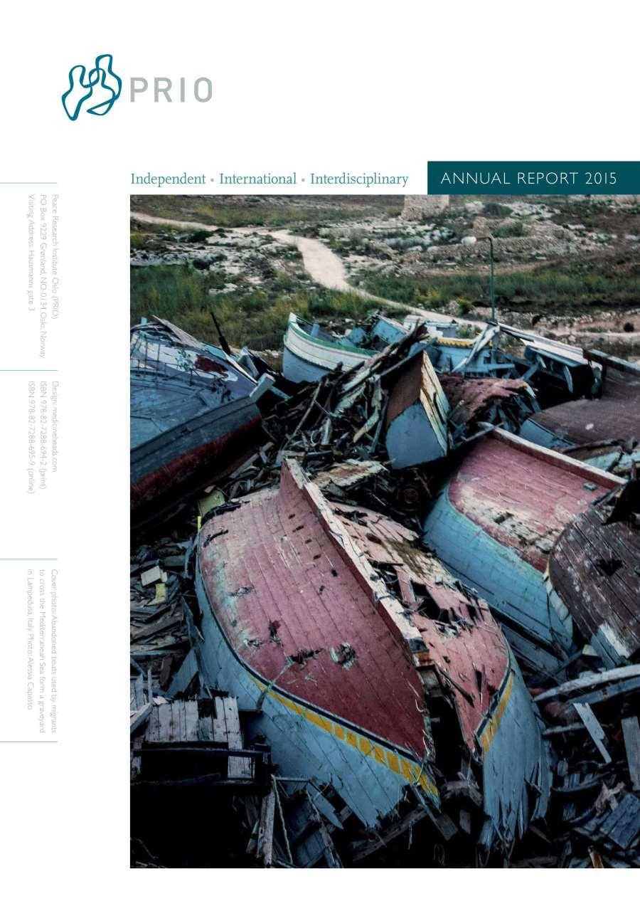 PRIO Annual Report 2015