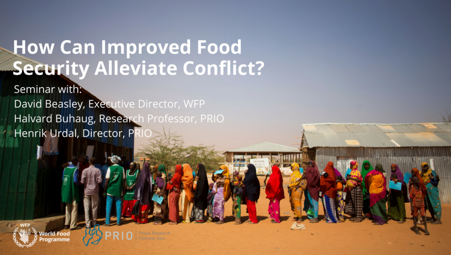 How Can Improved Food Security Alleviate Conflict?
