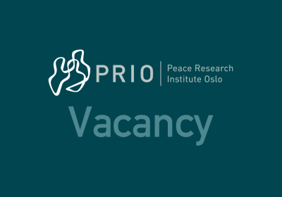 Deadline 30 October: PRIO Seeks University of Oslo Master's Students for Spring 2020