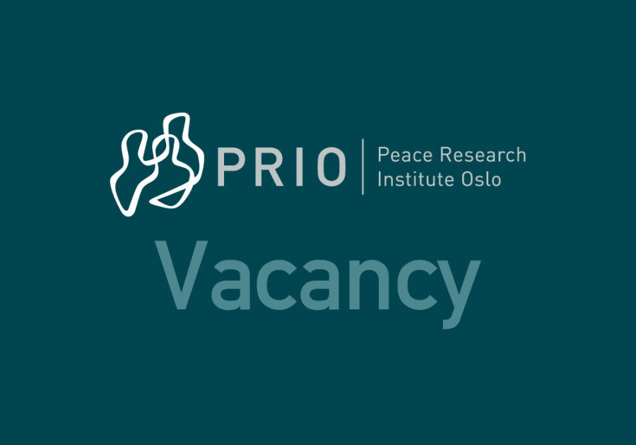 Call for Applications: Three New Positions at PRIO